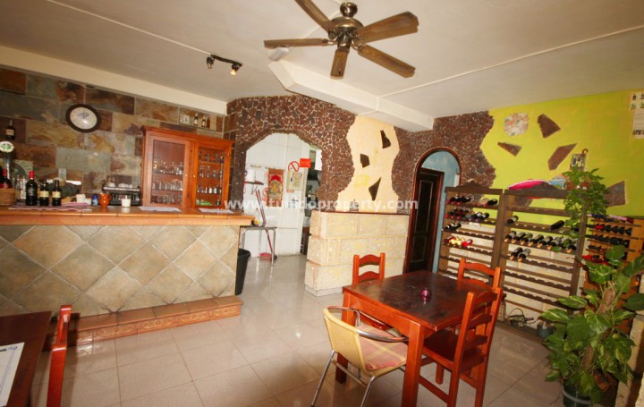 Restaurant in Tenerife, Los Gigantes for sale » #1299