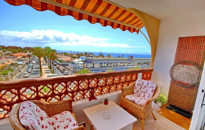 The apartment with the view for sale in Palm Mar » #1909
