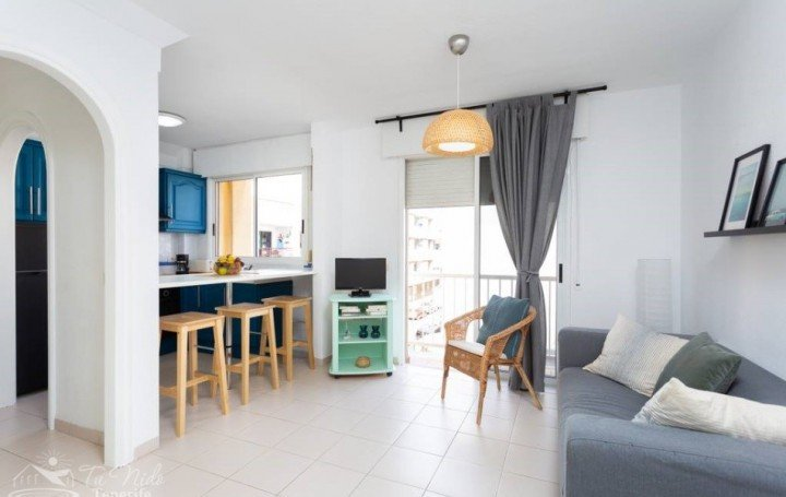 Refurbished apartment in Las Galletas, for sale» #2043