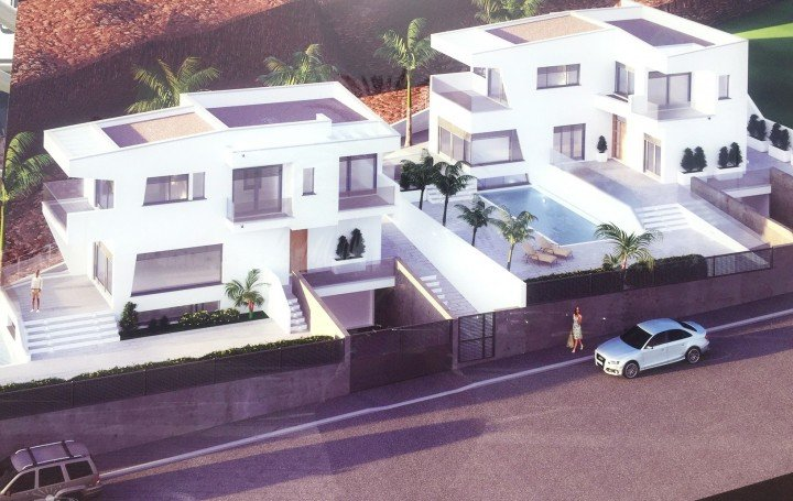 Building plot in Madroñal de Fañabe with panoramic views, Costa Adeje, for sale »# 2059