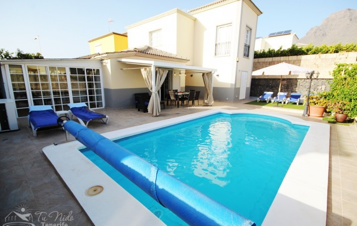 Villa with private pool in Tenerife, for rent» #1044